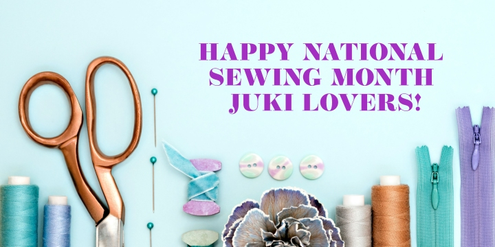 It's National SewingMonth!